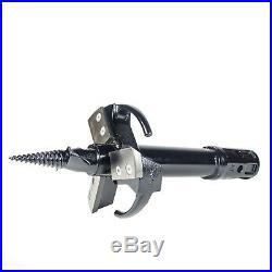 Stump Planer Auger for your Skid Steer Auger, 10 Diameter, 25 L, 2 Hex Coupler