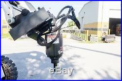 Thomas Skid Steer-Track Loader Auger by McMillen, X1975 Handles Up To 36 Bit