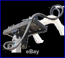 ToolTuff S21 Hydraulic Skid Steer Earth Auger Combo with Bits, Hoses, Fittings