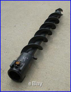 Toro Dingo Mini Skid Steer Attachment 4 Hex Auger Post Hole Digger Bit