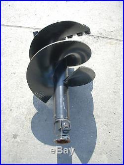 Toro Dingo Mini Skid Steer Attachment Hex 18 Auger Post Hole Bit Ship $99