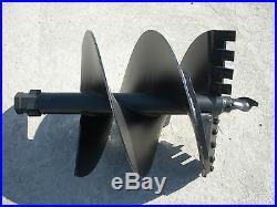 Toro Dingo Mini Skid Steer Attachment Hex 24 Auger Post Hole Bit Ship $179