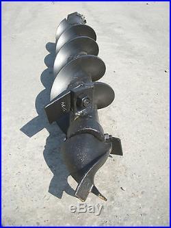 Toro Dingo Mini Skid Steer Attachment Hex 6 Auger Post Hole Bit Ship $69