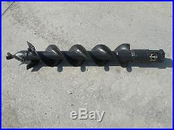 Toro Dingo Mini Skid Steer Attachment Hex 6 Auger Post Hole Bit Ship $99