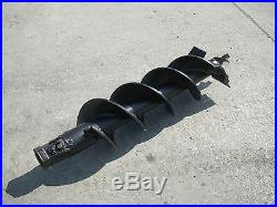 Toro Dingo Mini Skid Steer Attachment Hex 9 Auger Post Hole Bit Ship $99