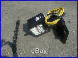 Toro Dingo Mini Skid Steer Attachment Lowe 750 Auger Drive 4 Bit Ship $199