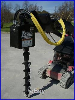 Toro Dingo Mini Skid Steer Attachment Lowe 750 Auger Drive 6 Bit Ship $199