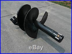 Toro Dingo Mini Skid Steer Attachment Round 18 Auger Post Hole Bit Ship $129
