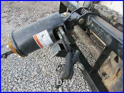 Wolverine 12 Auger Drill Attachment Skid Steer Tractor Local Pickup Only