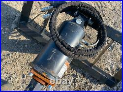 Wolverine Skid Steer Auger Attachment with 2 Bits